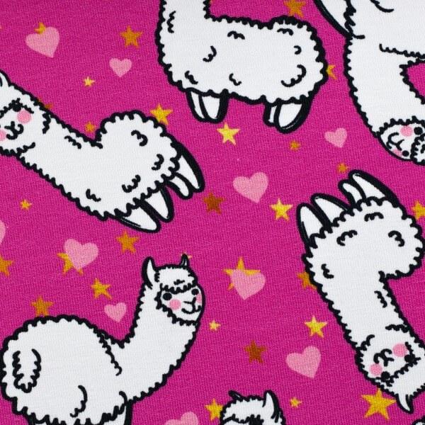 Theo Jersey Alpaka/ Lama pink