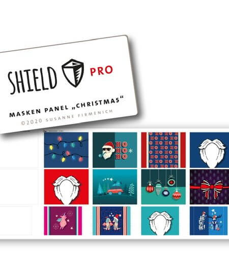 Shield-Panel-Christmas eckig