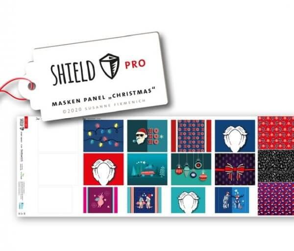 Shield-Panel-Christmas eckig