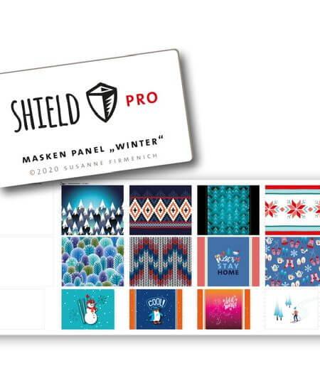 Shield-Panel-Winter eckig